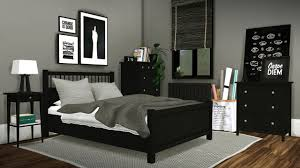 Sims Kitchen Ideas Ikea Hemnes U2022 Bed Merged With Mattress Mesh Edited U2022 Bedside