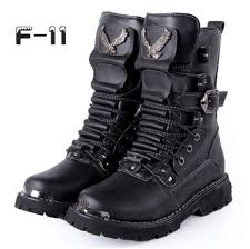 rock 2015 top punk cool men u0027s high ankle fashion army boots shoe