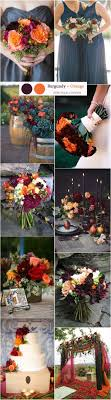 fall wedding color palette 71 best fall wedding colors images on fall wedding