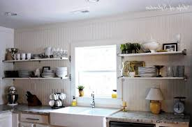 open shelf kitchen cabinet ideas open cabinets in kitchen interior decorating and home