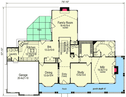 5 bedroom home plan embraces large family 5705ha architectural