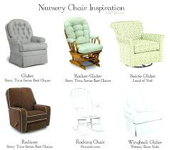 wonderfull nursery rocking chairs with ottoman for house design