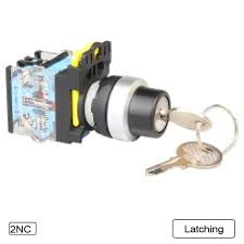 key operated light switch 5 pcs push button switch selector switch key operated 3 position