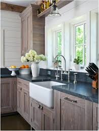 kitchen oak cabinets black appliances painted color ideas with and