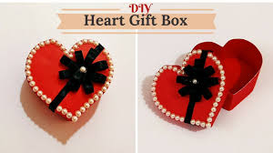 heart gifts how to make heart shape gift box for birthday