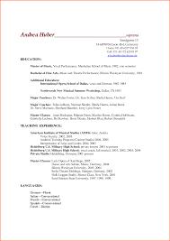 educational resume format academic resume template 5 academic resume template budget template letter gallery