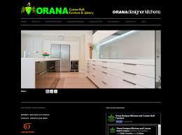 Designer Kitchens Melbourne by Orana Custom Built Furniture Web Initiatives
