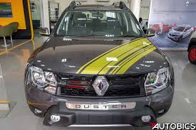 renault duster 2019 renault duster sandstorm edition u2013 video and images autobics
