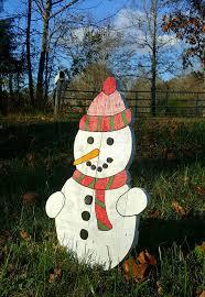 pallet snowman outdoor snowman decor outdoor