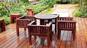 does it or list it leave the furniture choosing the most durable wood for outdoor furniture