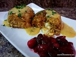 stuffed thanksgiving meatballs the kitchenista diaries