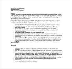 brand manager description sample brand manager job description 9