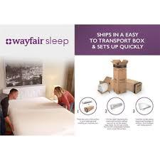 wayfair mattress wayfair sleep wayfair sleep 8 memory foam mattress reviews
