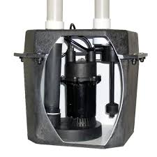 everbilt 0 25 hp pre plumbed sink tray system sump pump thd1035
