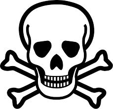 file skull crossbones svg wikimedia commons