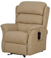 Dual Motor Riser Recliner Chair with The Sandringham Dual Motor Riser Recliner In Buttermilk Fabric