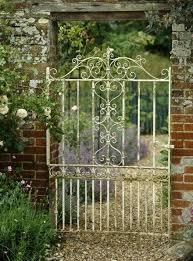 Wrought Iron Garden Decor Best 25 Wrought Iron Gates Ideas On Pinterest Iron Gates