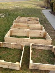 Raised Garden Beds From Pallets - zombie apocalypse survivalists raised gardening beds from