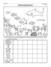 sea animal number count worksheet crafts and worksheets for