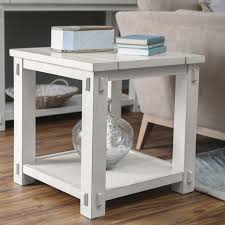 End Table With Charging Station by Square End Table On Hayneedle Square Side Table