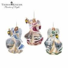 kinkade candleholder quartet collector plate collection