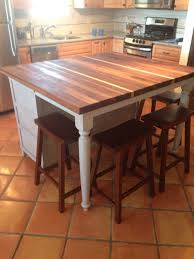 kitchen trendy kitchen island with seating butcher block small