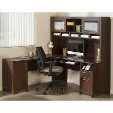 Office L Desks by Desk Bush Cabot L Shaped Desk With Regard To Awesome Furniture
