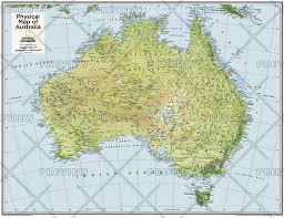atlas map of australia australia physical atlas of the world 10th edition 2015 by