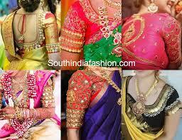 9 gorgeous kasu embellished blouse designs for silk sarees