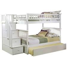 Columbia Bunk Bed Atlantic Furniture Columbia Staircase Trundle Bunk