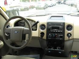 2007 ford f150 xlt supercrew tan dashboard photo 39885364