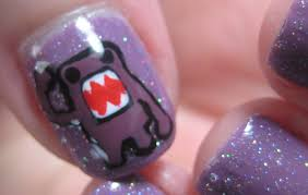 how to paint domo nail art tutorial make your own nail