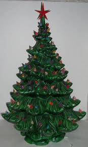 ceramic christmas tree 79 best ceramic christmas trees images on christmas