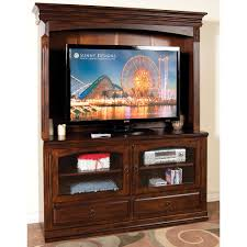 Hutch Transmission 63 Inch Chocolate Brown Tv Stand With Hutch Santa Fe Rc Willey