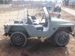 jeep body for sale 1961 m422 mighty mite military vehicle aluminum body no reserve