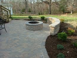 Patio Brick Pavers Brick Paver Patio With Fireplace Stafford Nursery