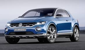 volkswagen models vw showcases t roc and t cross concept models launch by 2020