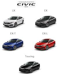 difference between honda civic lx and ex comparison archives honda of aventura deals