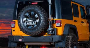 Rugged Ridge Tire Carrier Arb Releases New Jeep Jk Rear Bumper And Tire Carrier Motus