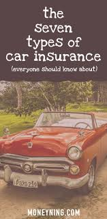Estimated Car Insurance Cost by 7 Types Of Car Insurance Which Ones Do You Really Need
