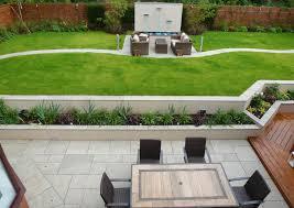 contemporary gardens landscaping riverside merseyside abel