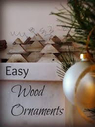 wood ornaments diy my altered state