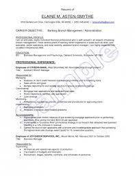 incredible bank branch manager resume resume format web