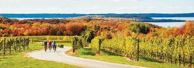 in fall biking in fall traverse city mi