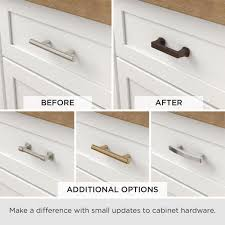 home depot kitchen cabinet door handles liberty 4 in 102mm center to center satin nickel wire