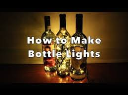 how to make a wine bottle l how to make night l from wine bottle amazing craft with wine