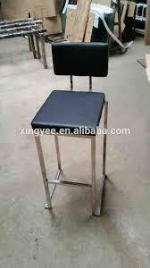 stackable bar stool modern bar furniture kitchen high chair metal
