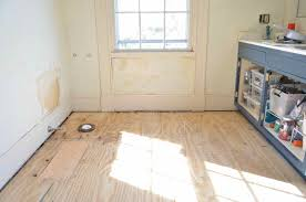 How To Replace A Damaged Piece Of Laminate Flooring Patching And Repairing Subfloor At Charlotte U0027s House