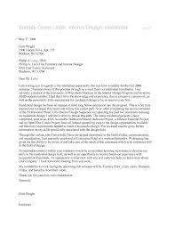 Graphic Designer Resume Example Interior Designer Cover Letter Sample Gallery Cover Letter Ideas