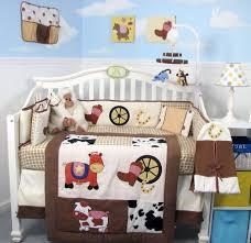 Soho Crib Bedding Set Cowboy Crib Set 6 Soho Cowboy Blues Baby Crib Nursery Bedding Set